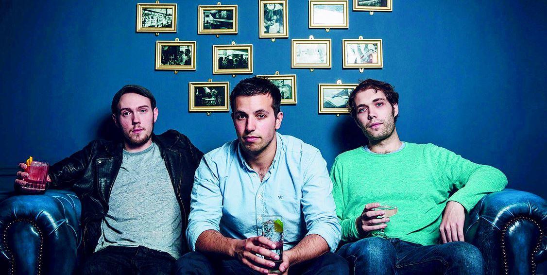 From left Alex Lawrence, Ben Iravani, Josh Rennie  of Porter's Gin
