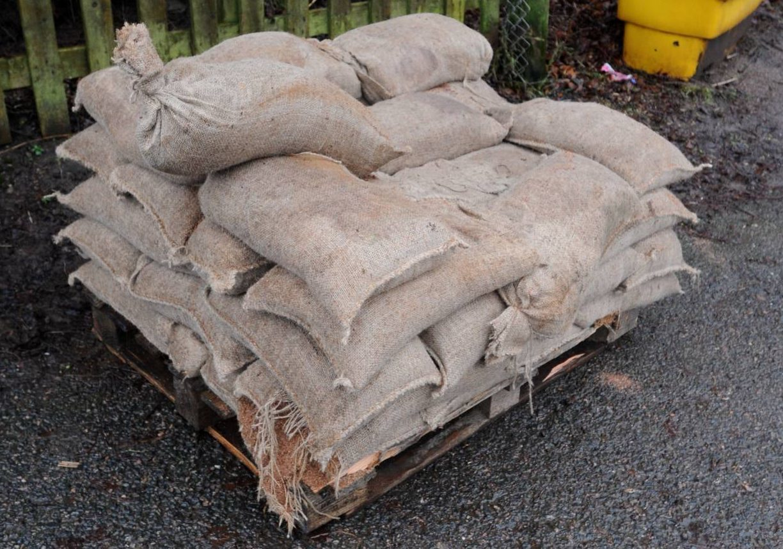 Aberdeenshire Council is handing out sandbags.