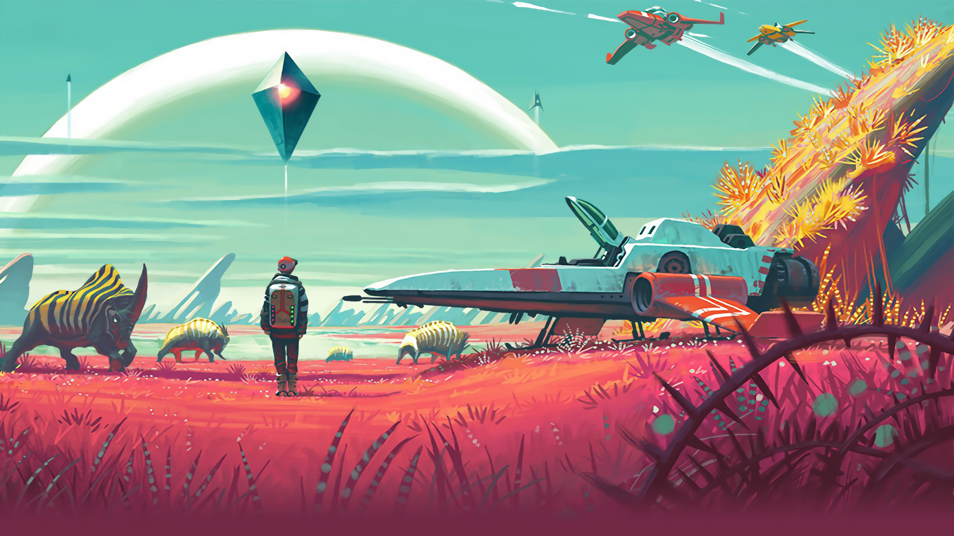 No Man's Sky is set to release next month.