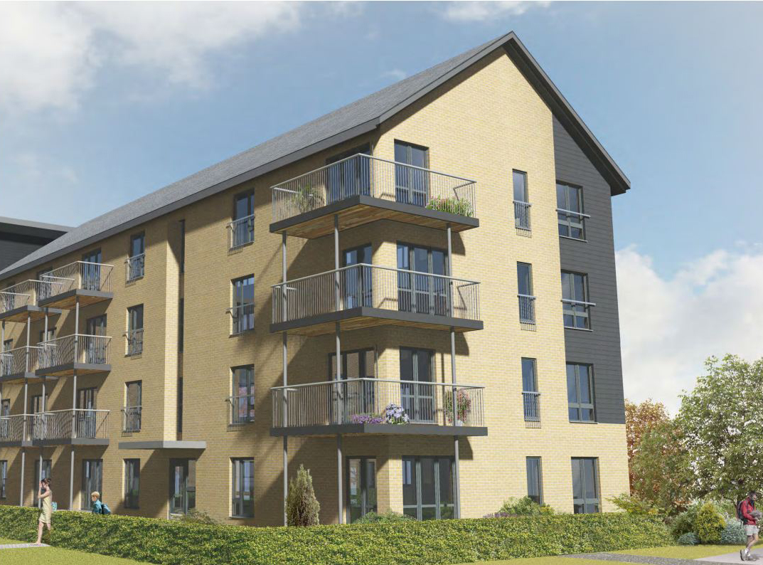 Plans were unveiled for the creation of 80 council houses in Manor Walk, Middlefield.