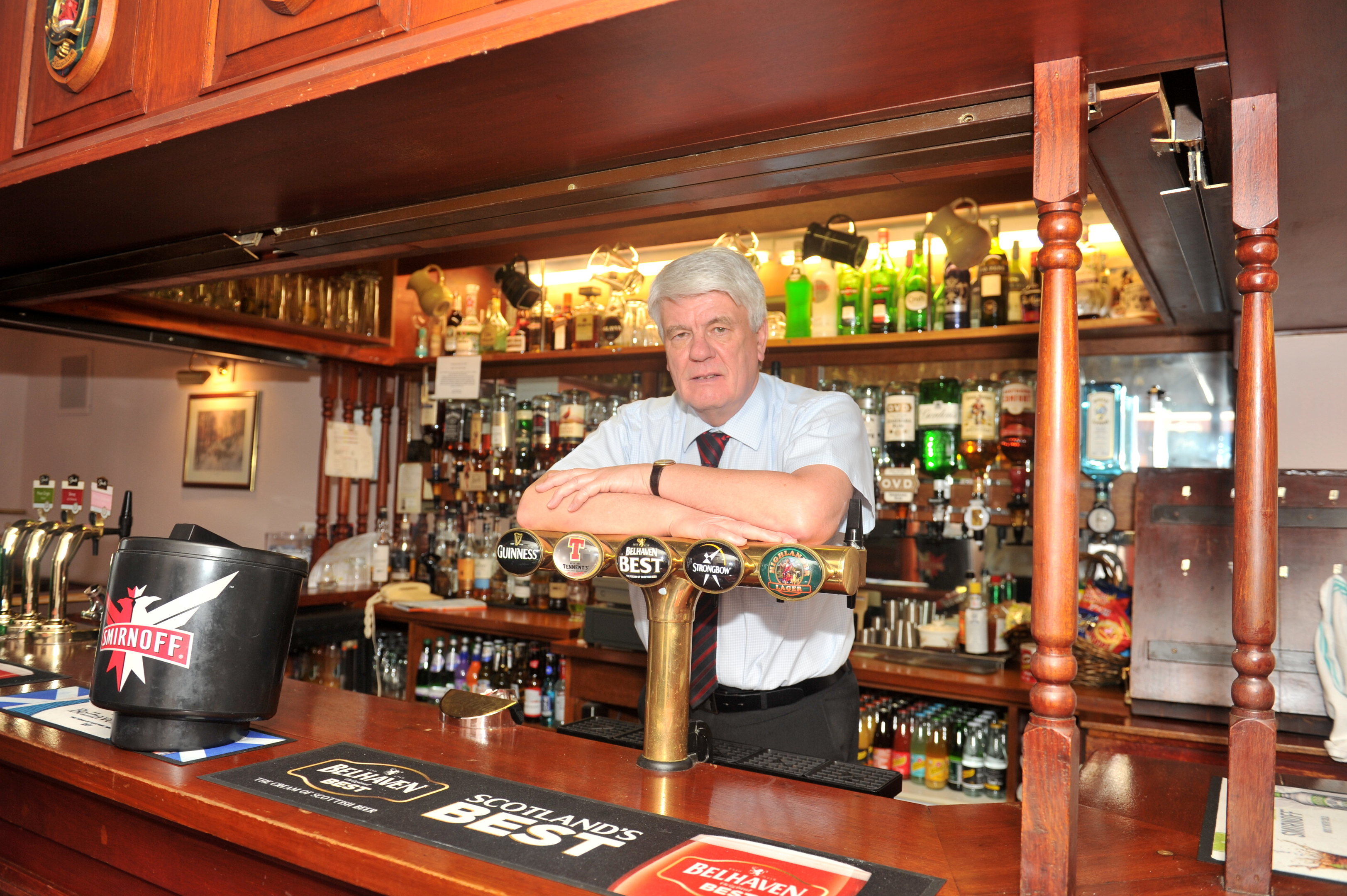 Gordon Arms Hotel owner and head organiser of the Huntly Beer Festival David Sherriffs.
