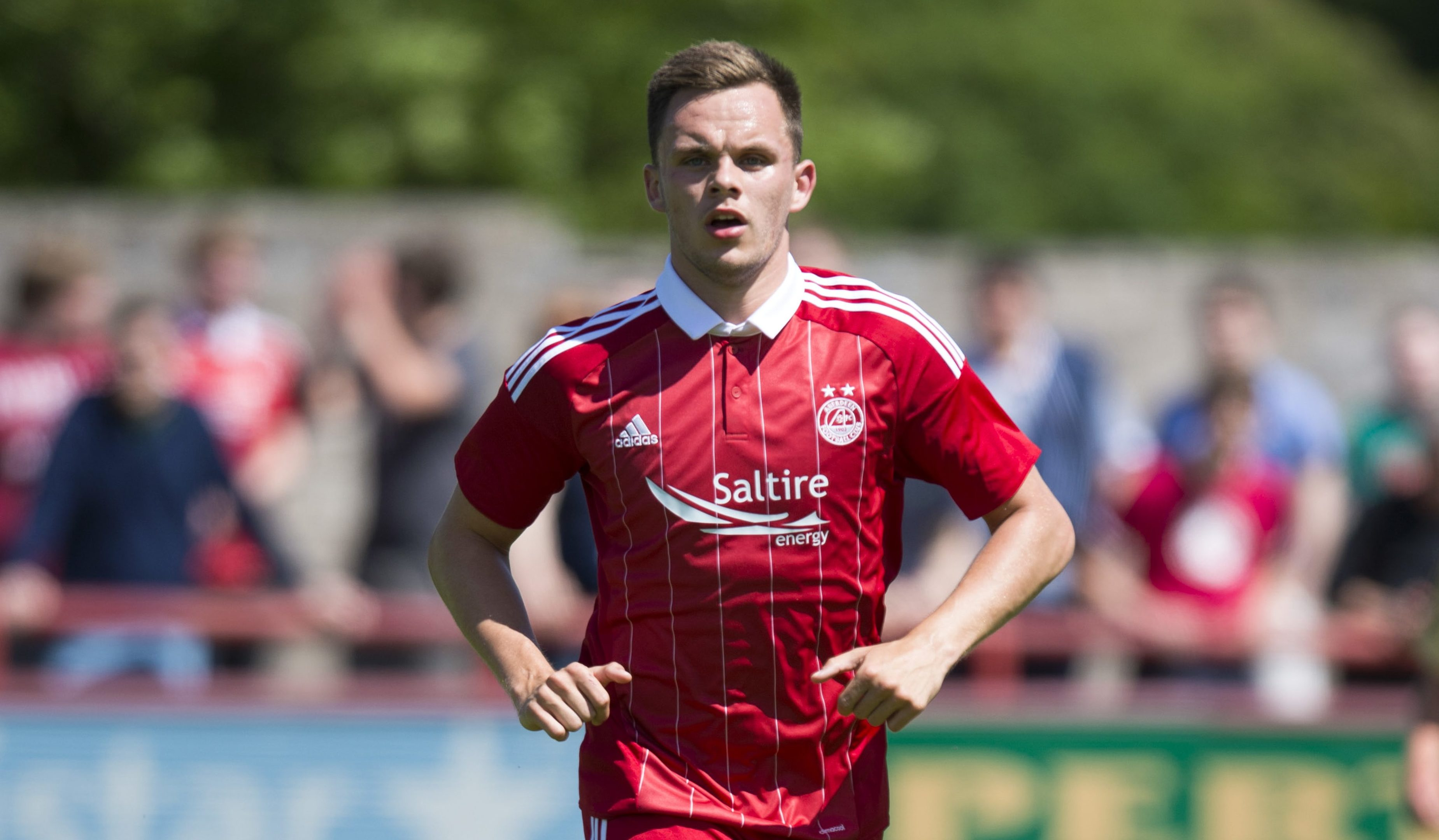 Lawrence Shankland during his four-year spell with Aberdeen