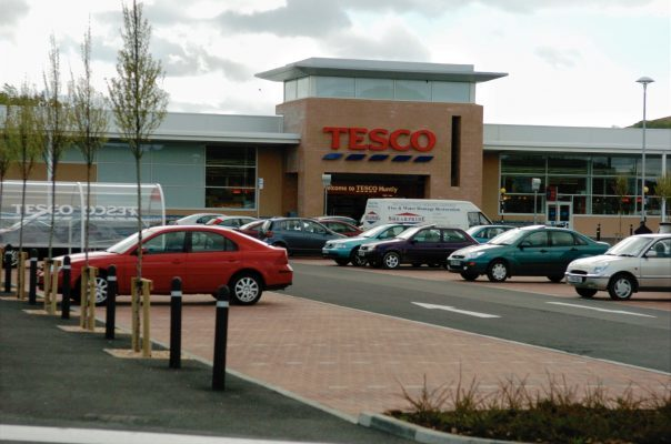 Tesco in Huntly