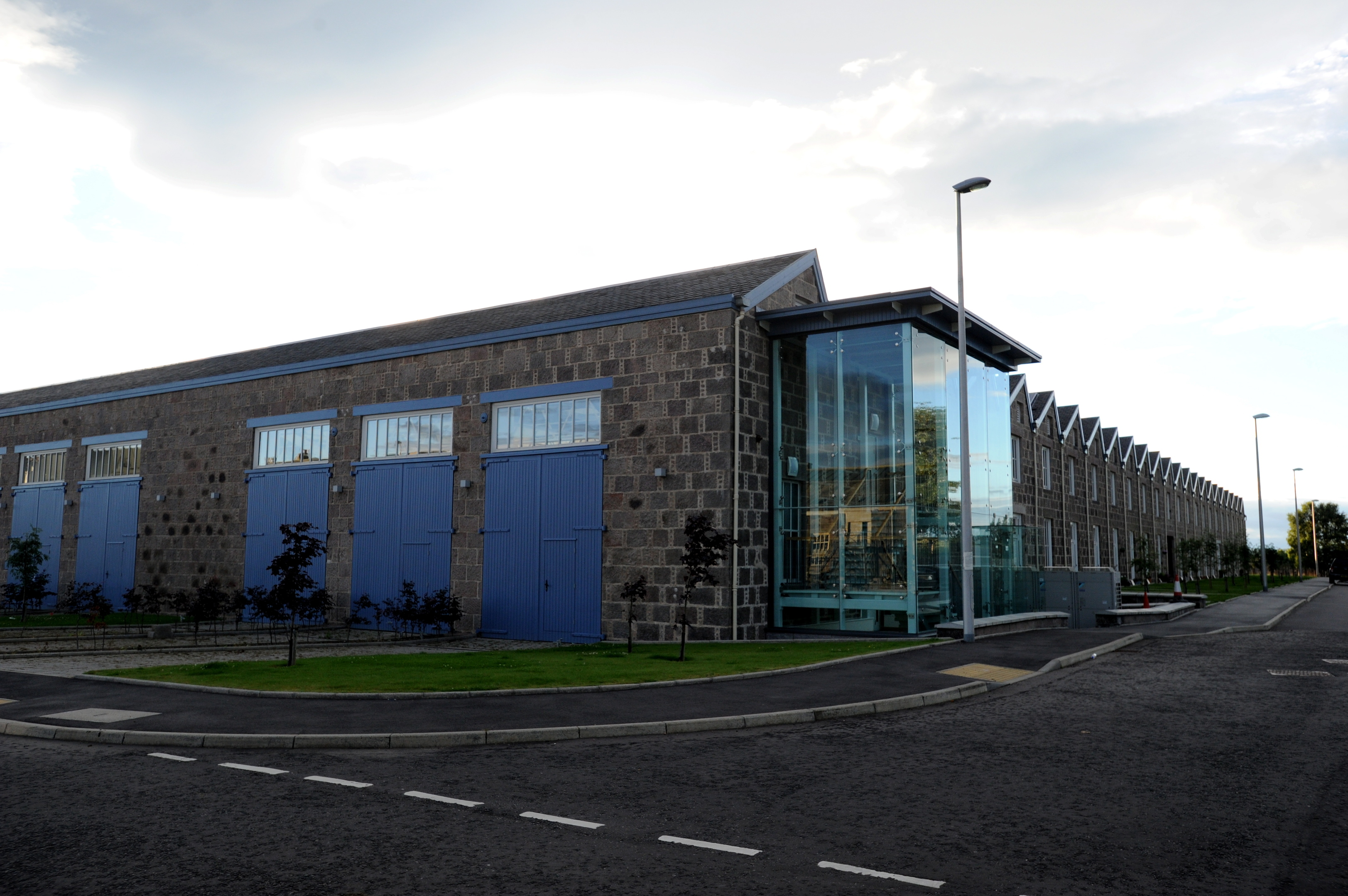 Garioch Heritage Society is moving into the former loco works.