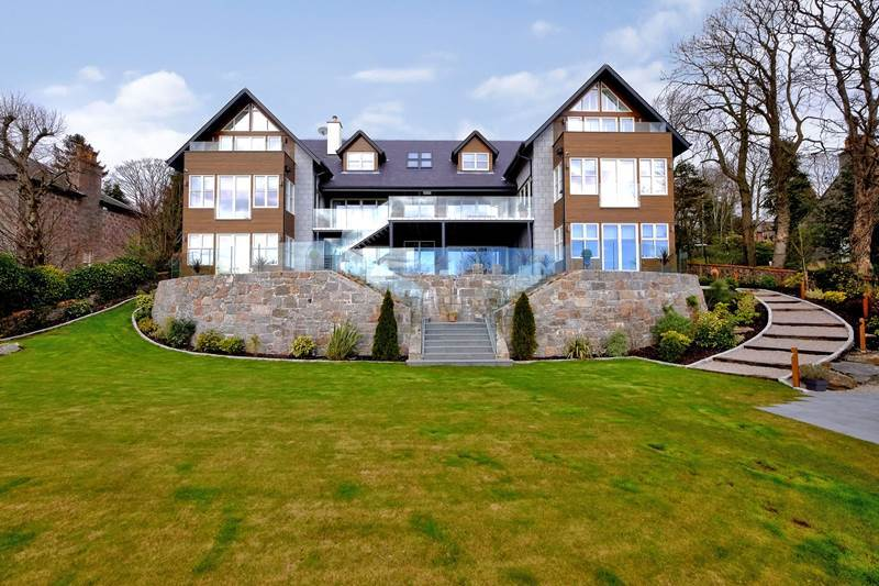 The price of the house is the highest in Aberdeen to go on the market this year.
