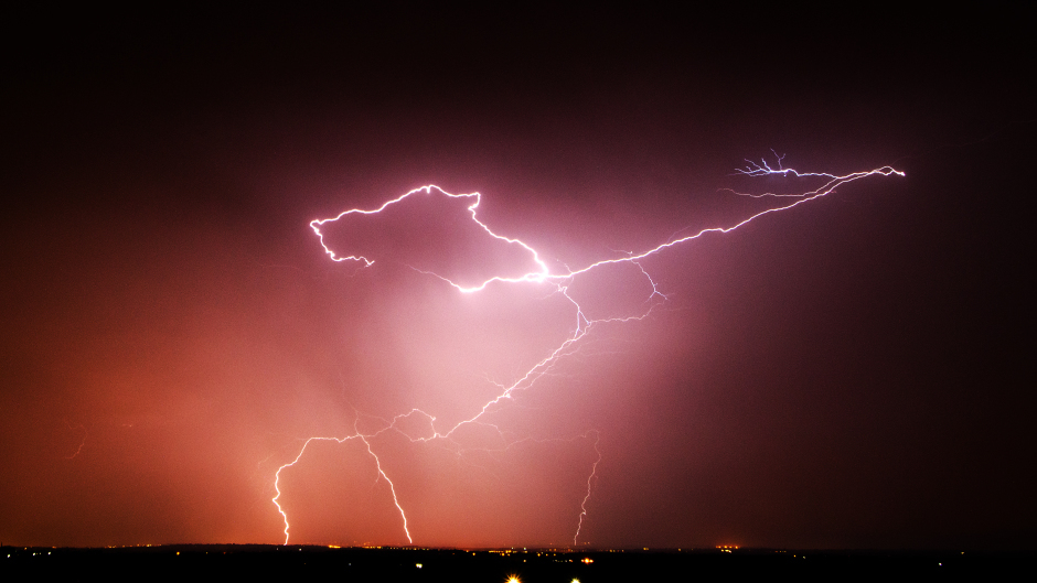 The Met Office has warned of thunderstorms