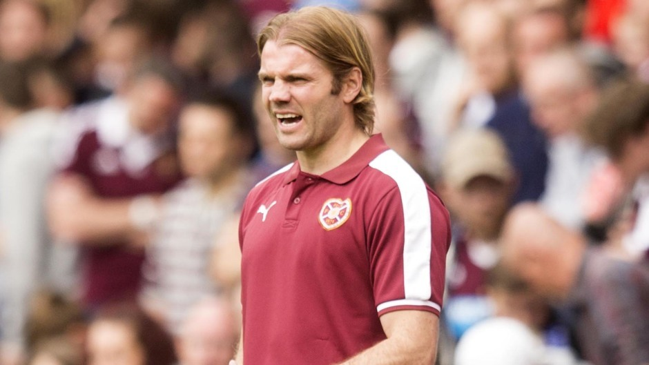 Robbie Nielson saw his Hearts side draw 0-0 in Malta