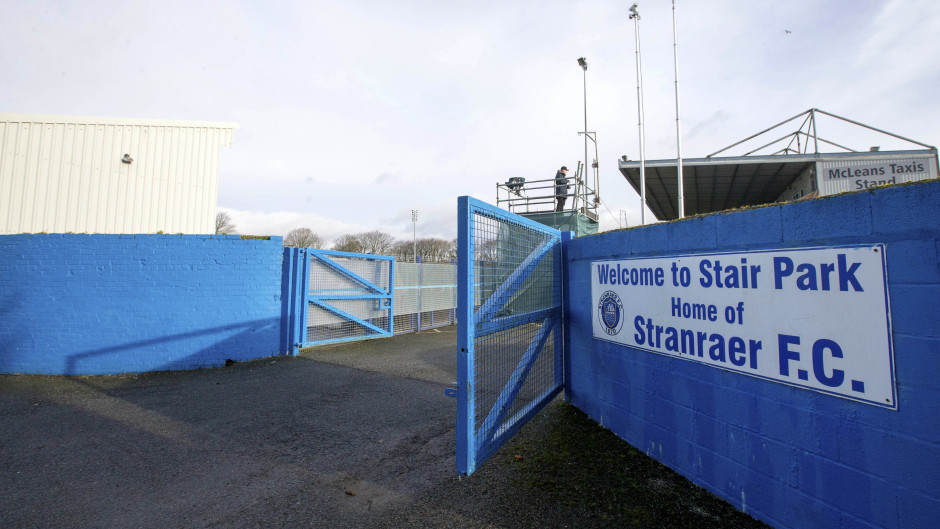 Stranraer have announced manager Brian Reid has left the club.