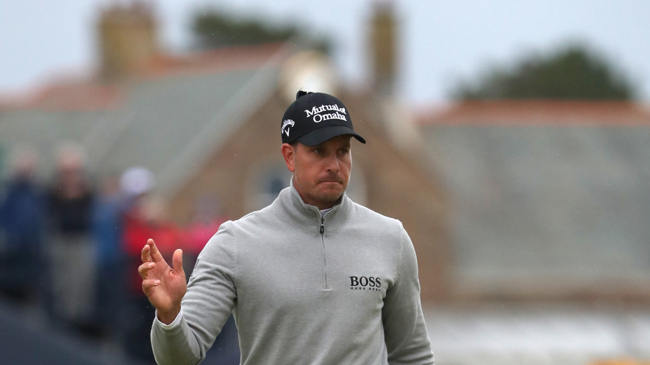 Henrik Stenson won the Open at Royal Troon