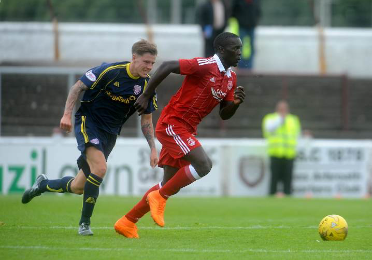 Khalid Aucho came on in the second half