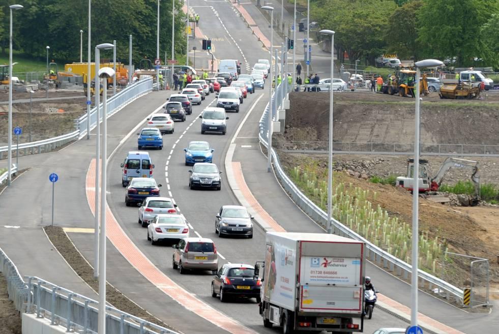 Drivers have been caught speeding on the Diamond Bridge.
