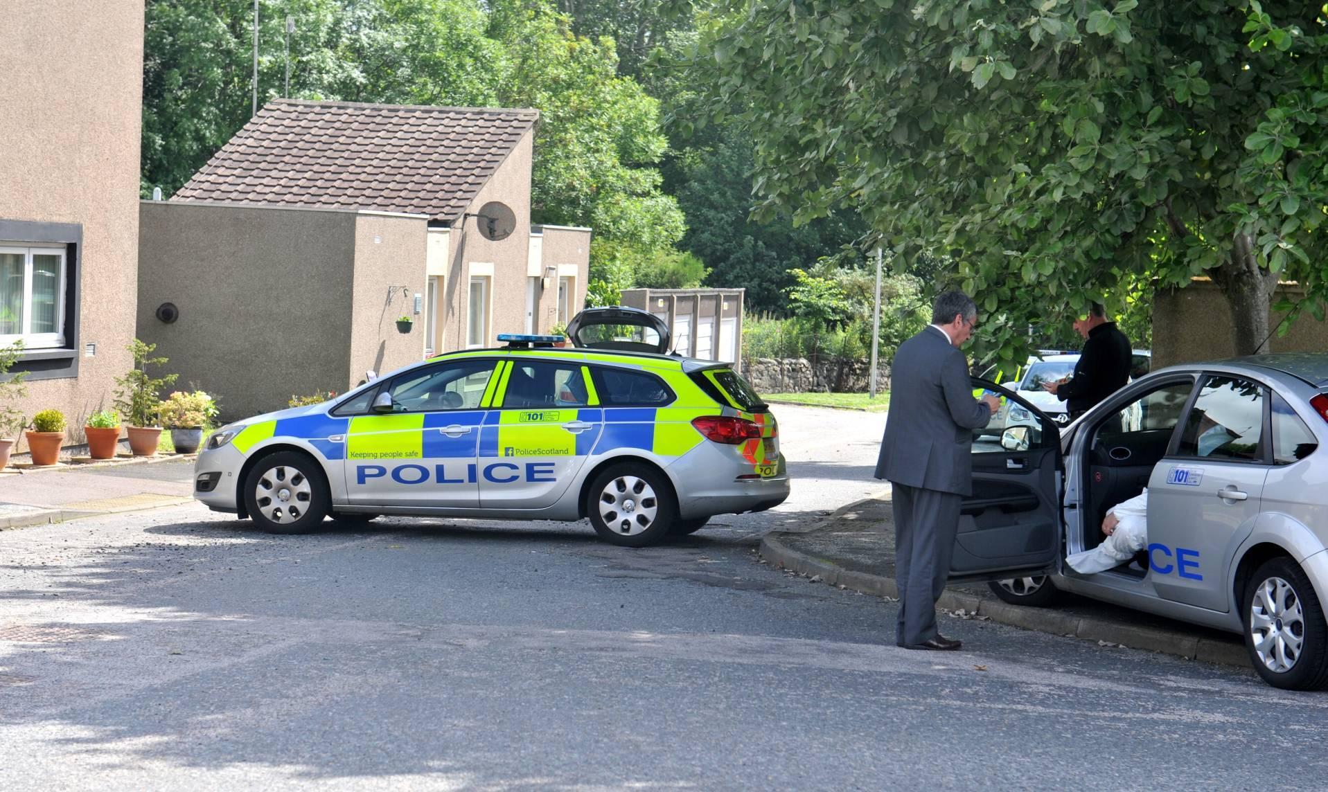 A body was found was in the Crossgates area of Bucksburn.