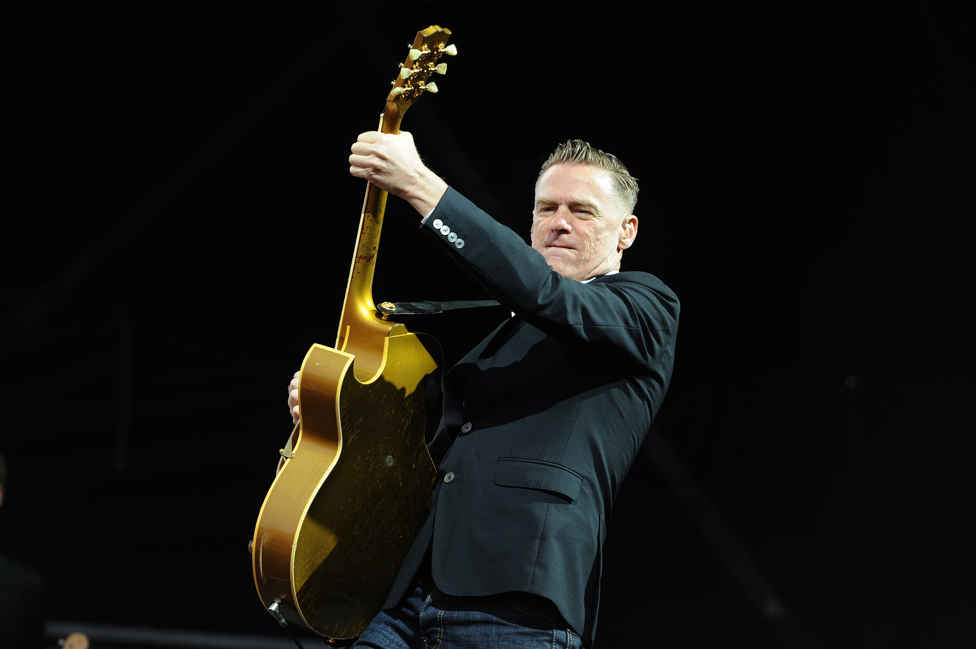 Bryan Adams on stage at MoFest.