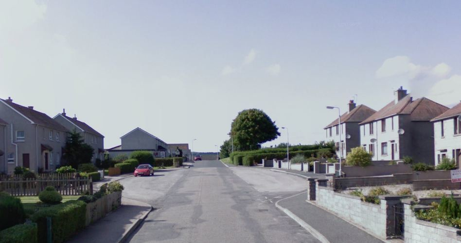 The fire happened at a house on Craighead Drive, Huntly. Picture: Google 2015.