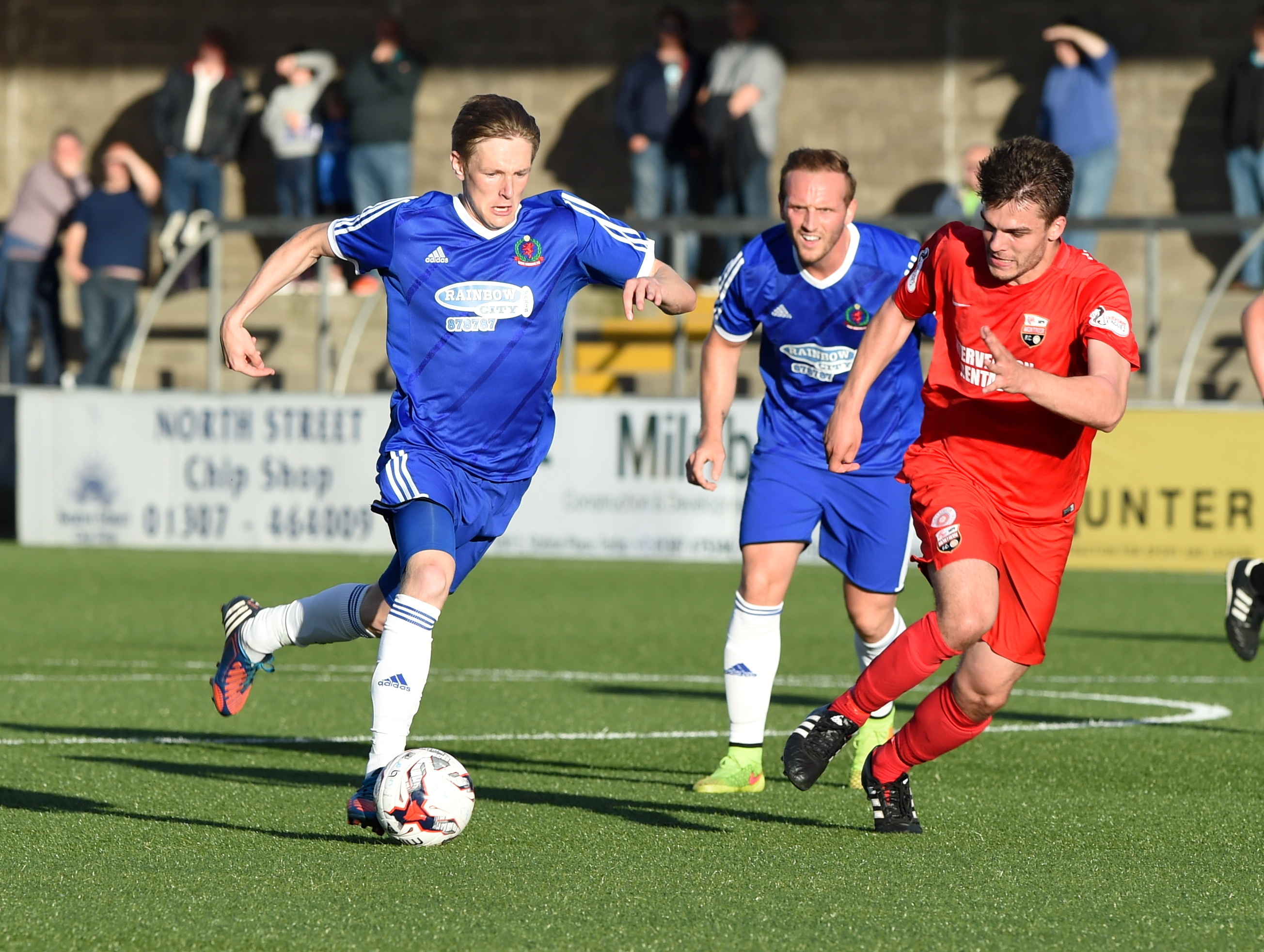 Midfielder Blair Yule is impressed with Cove's style of play.