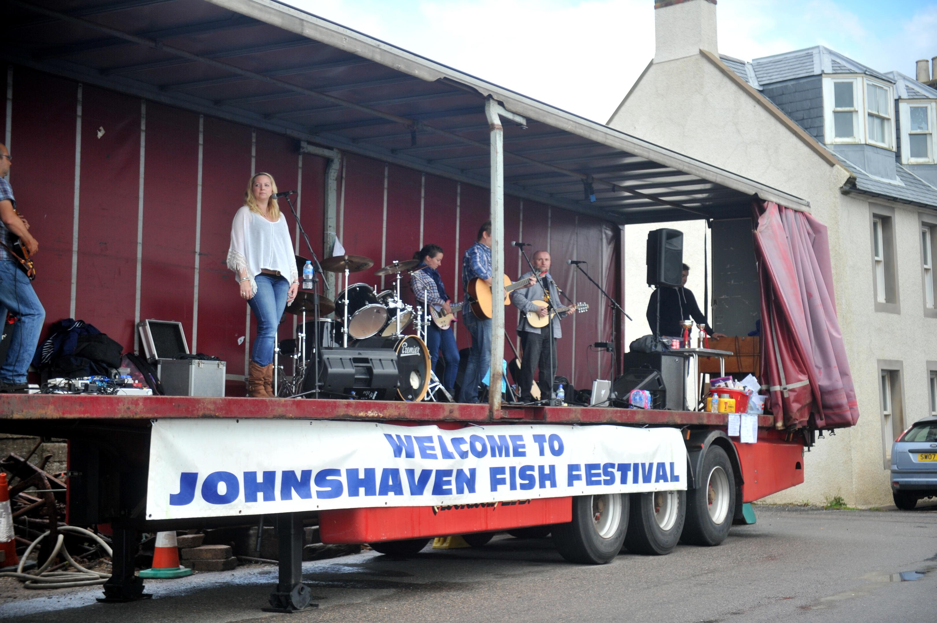 Event:  The Johnshaven Fish Festival last year.