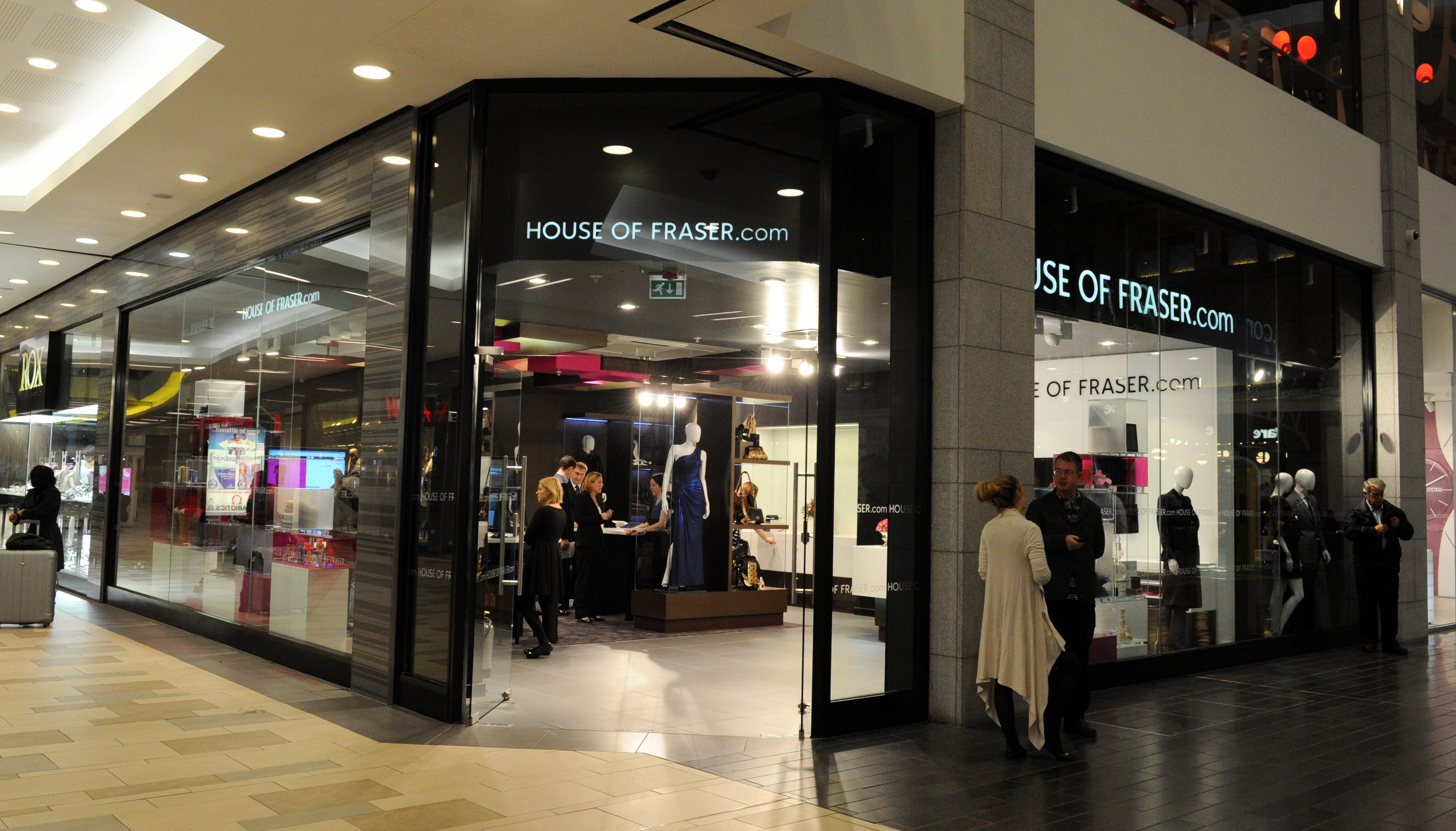 The House of Fraser store in Union Square.