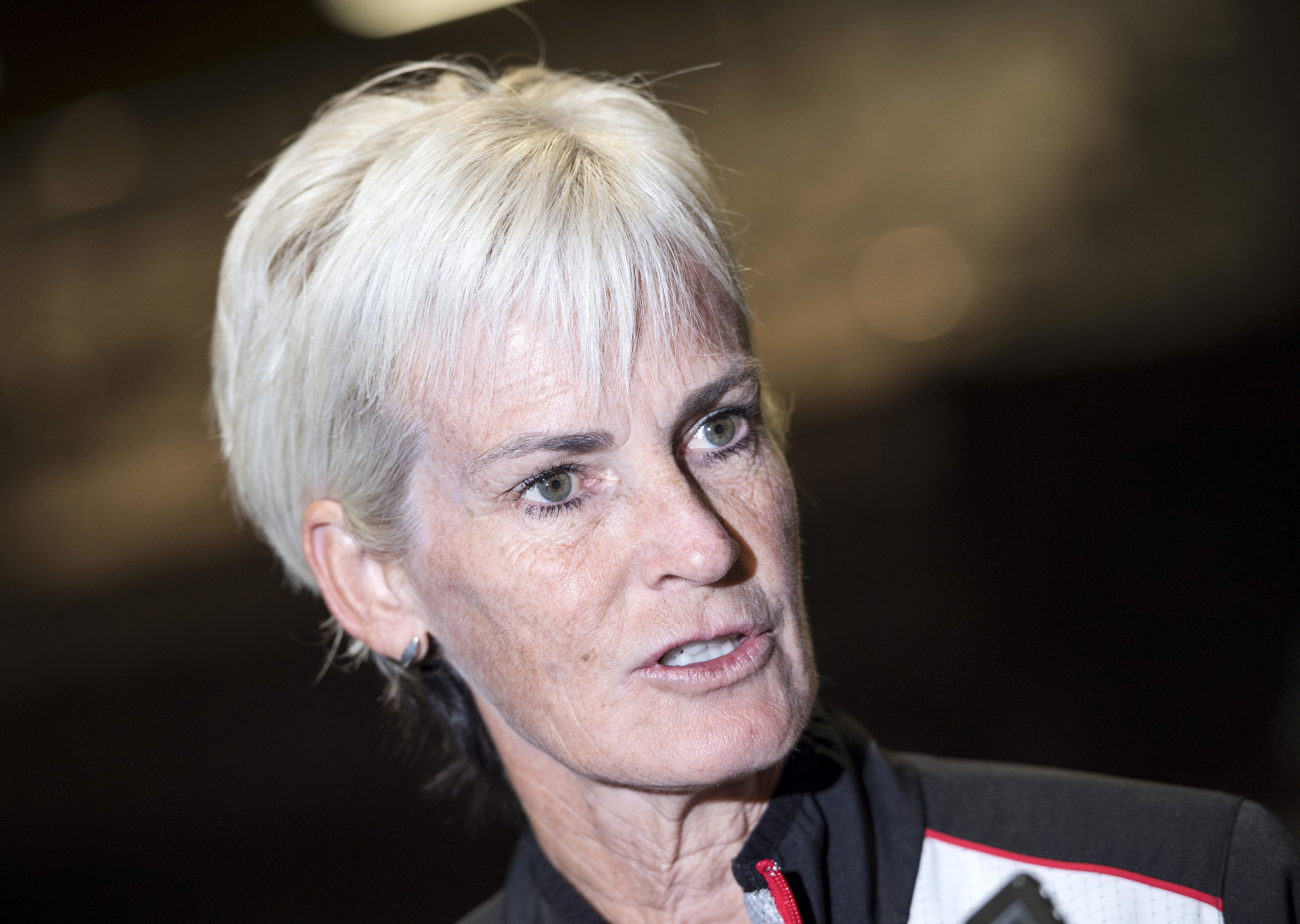 Judy Murray is heading for the North-east.