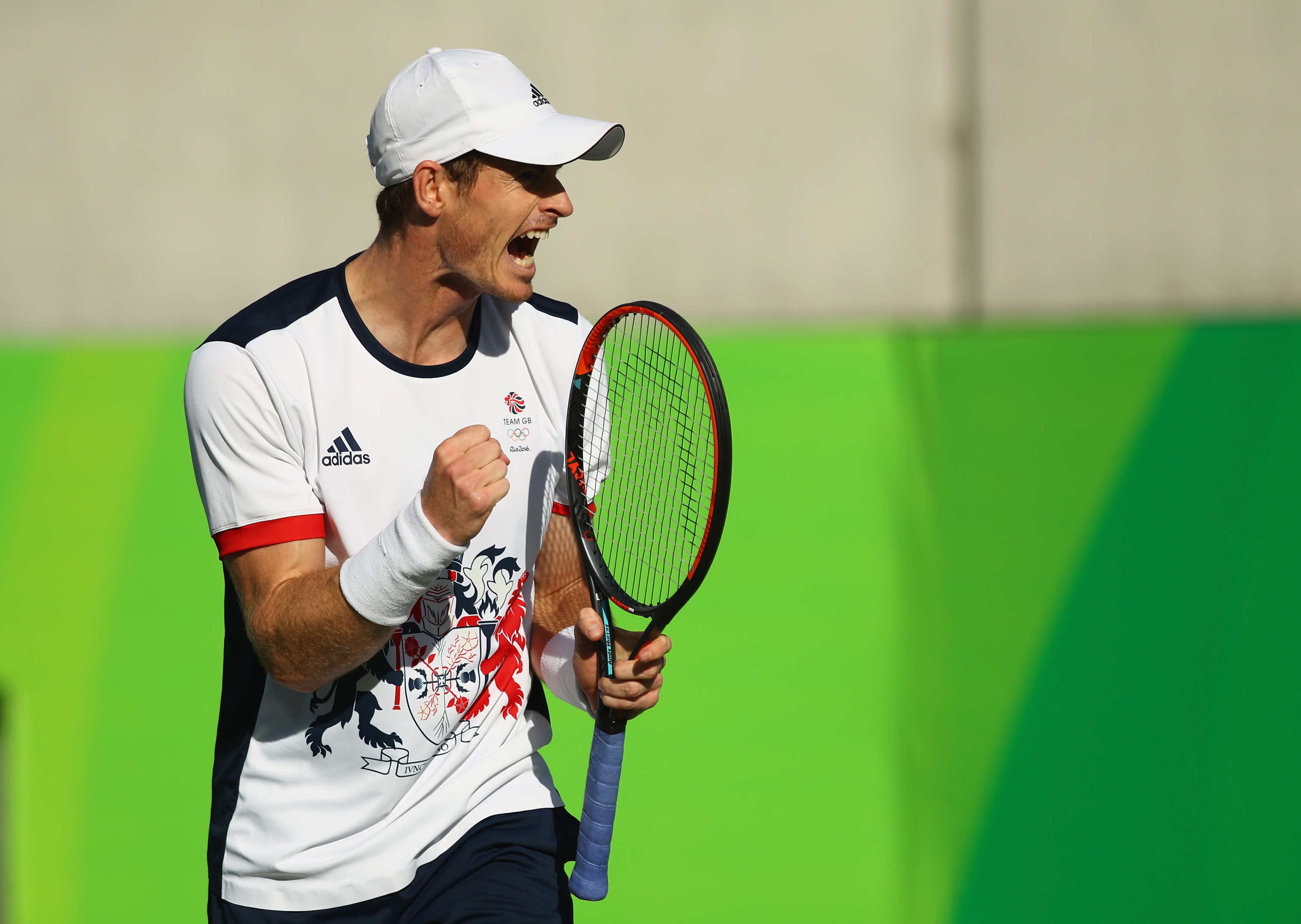 Andy Murray took gold for Britain in the tennis men's singles.