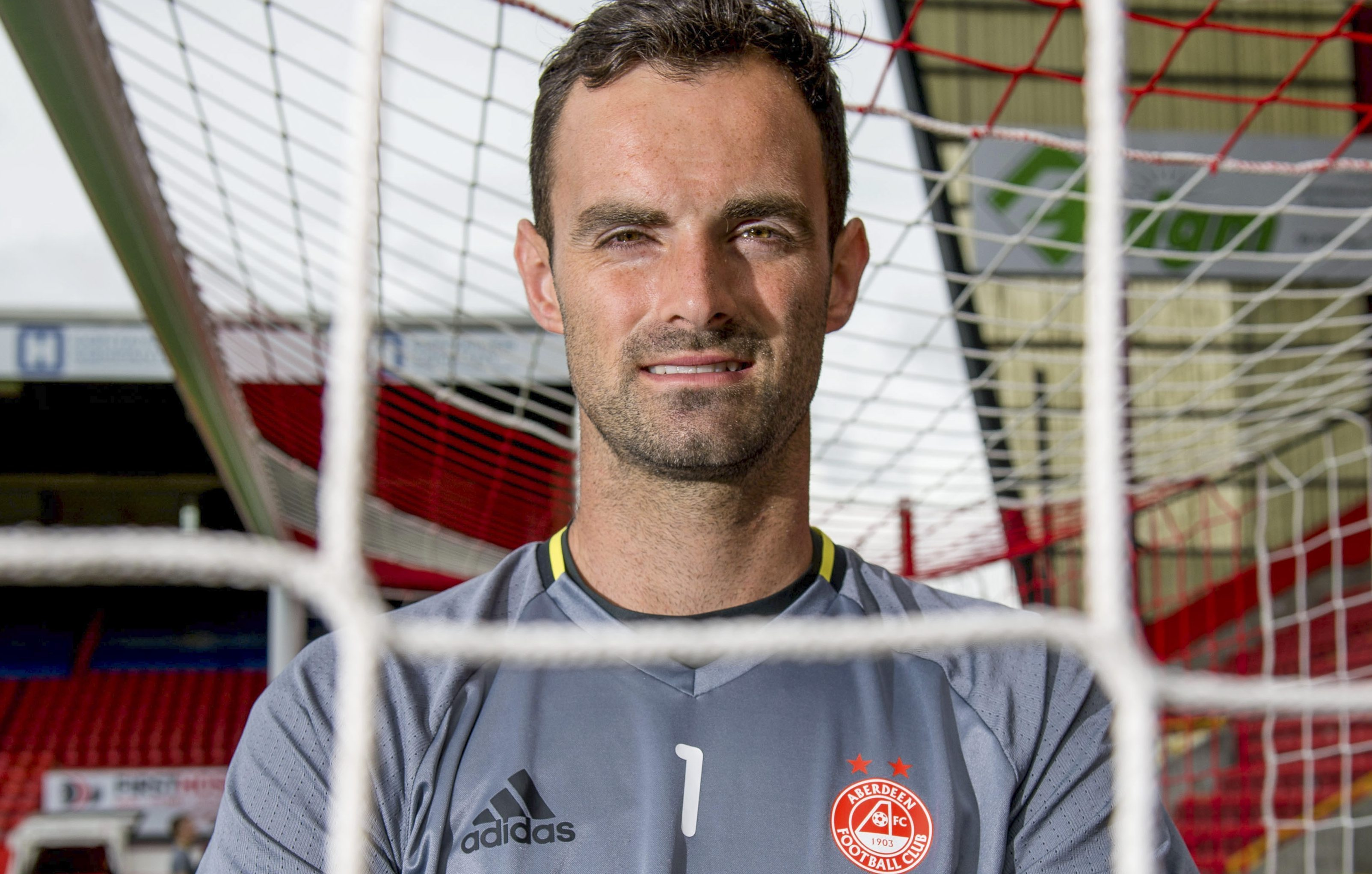 Dons keeper Joe Lewis.