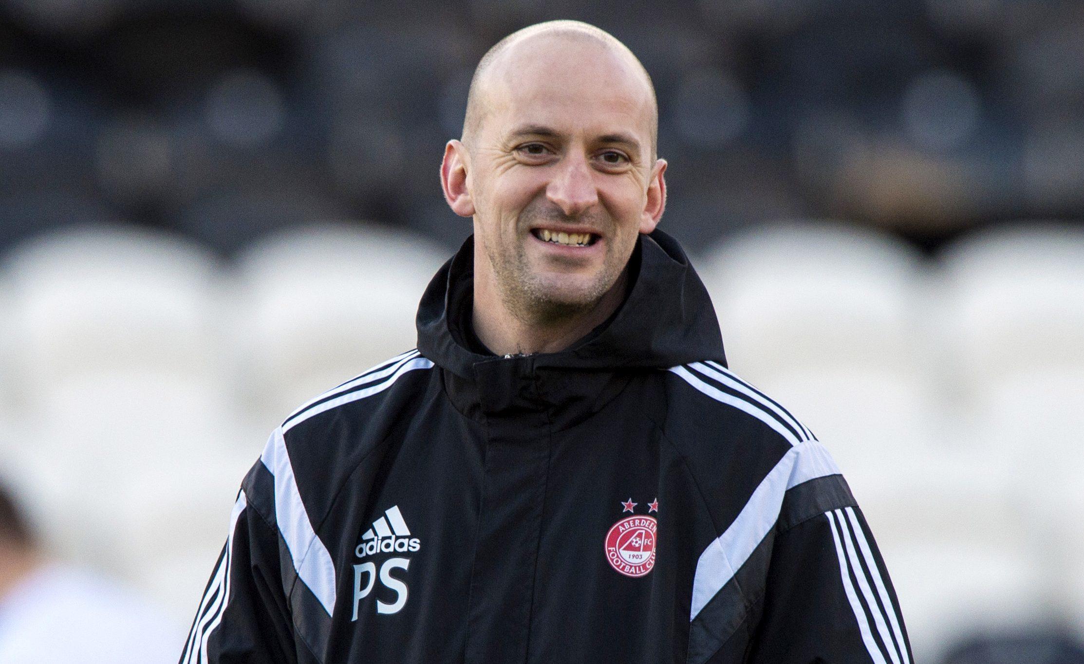 Aberdeen Under-20s chief Paul Sheerin.