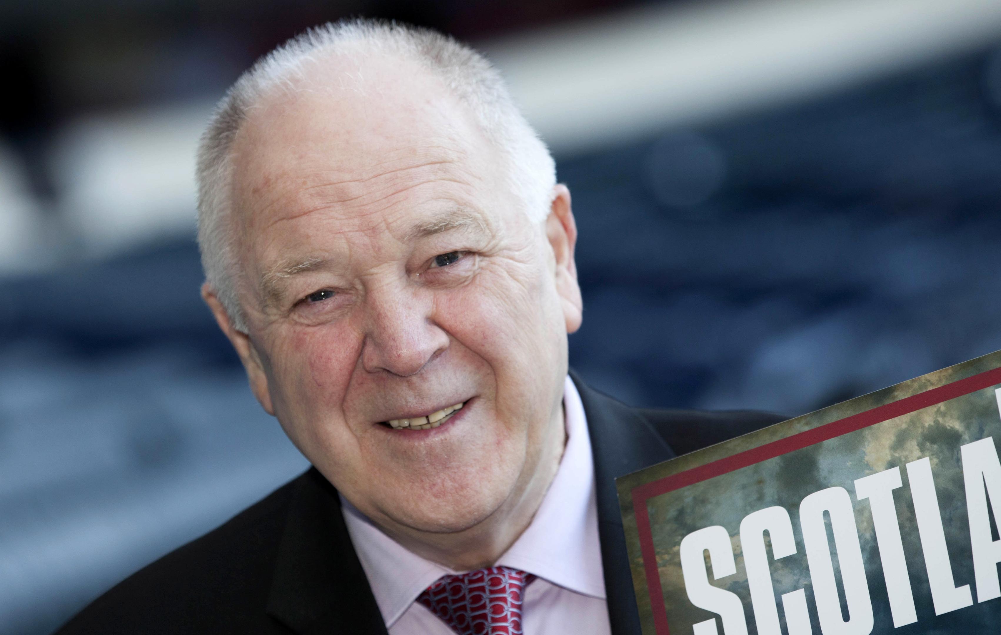 Former Scotland manager Craig Brown at Hampden.