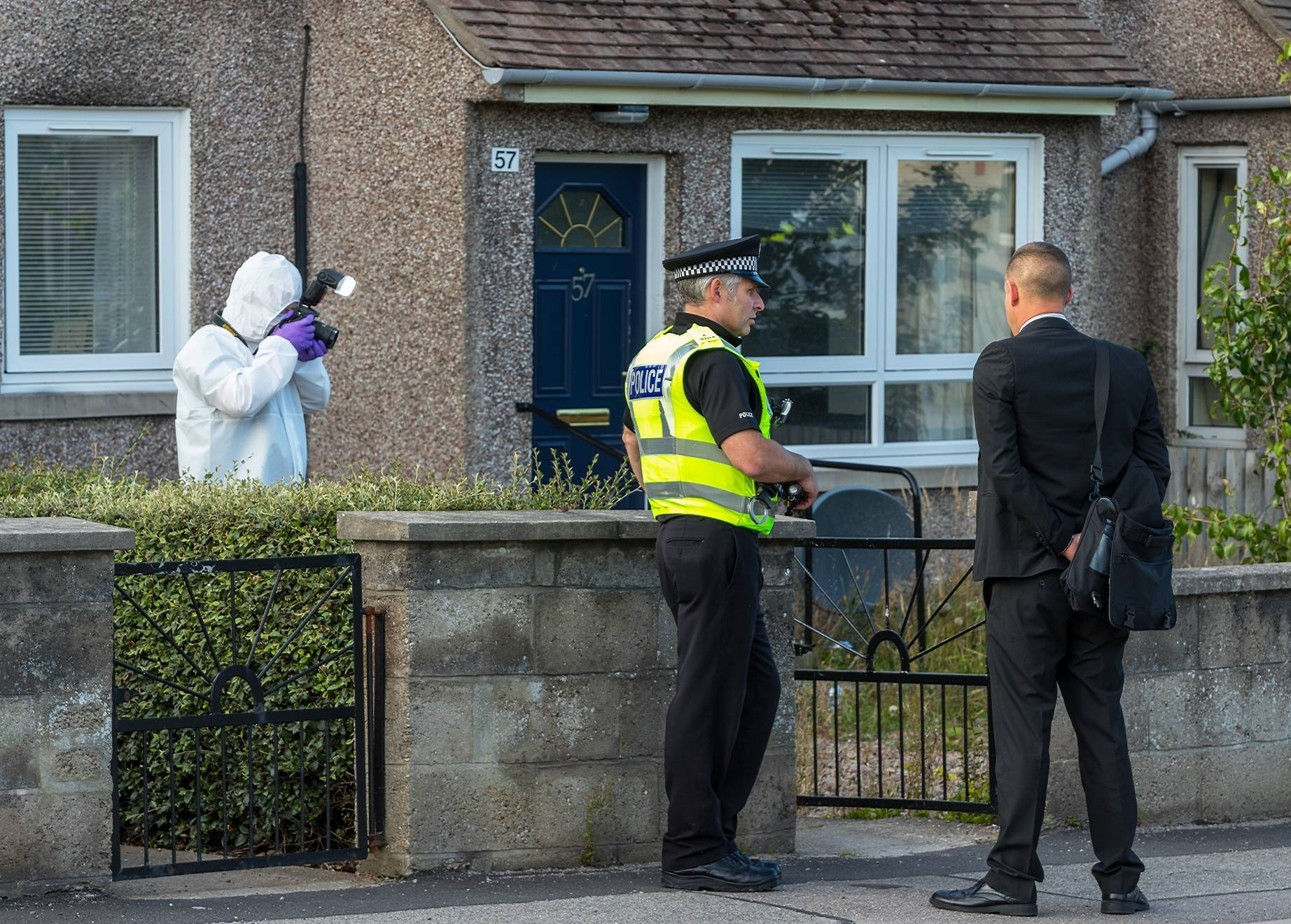 The alleged incident happened on Morriston Road in Elgin.