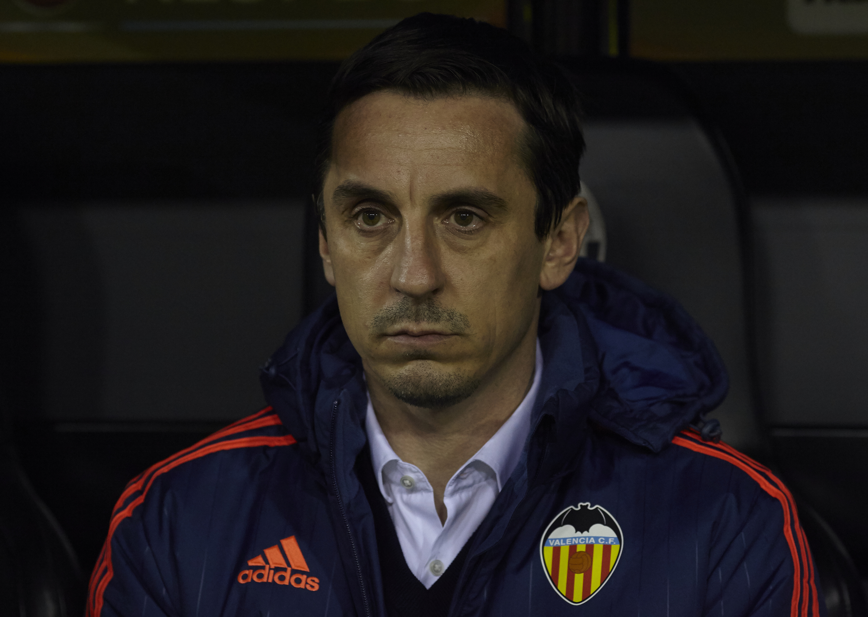 Gary Neville didn't last long as Valencia manager earlier this year.
