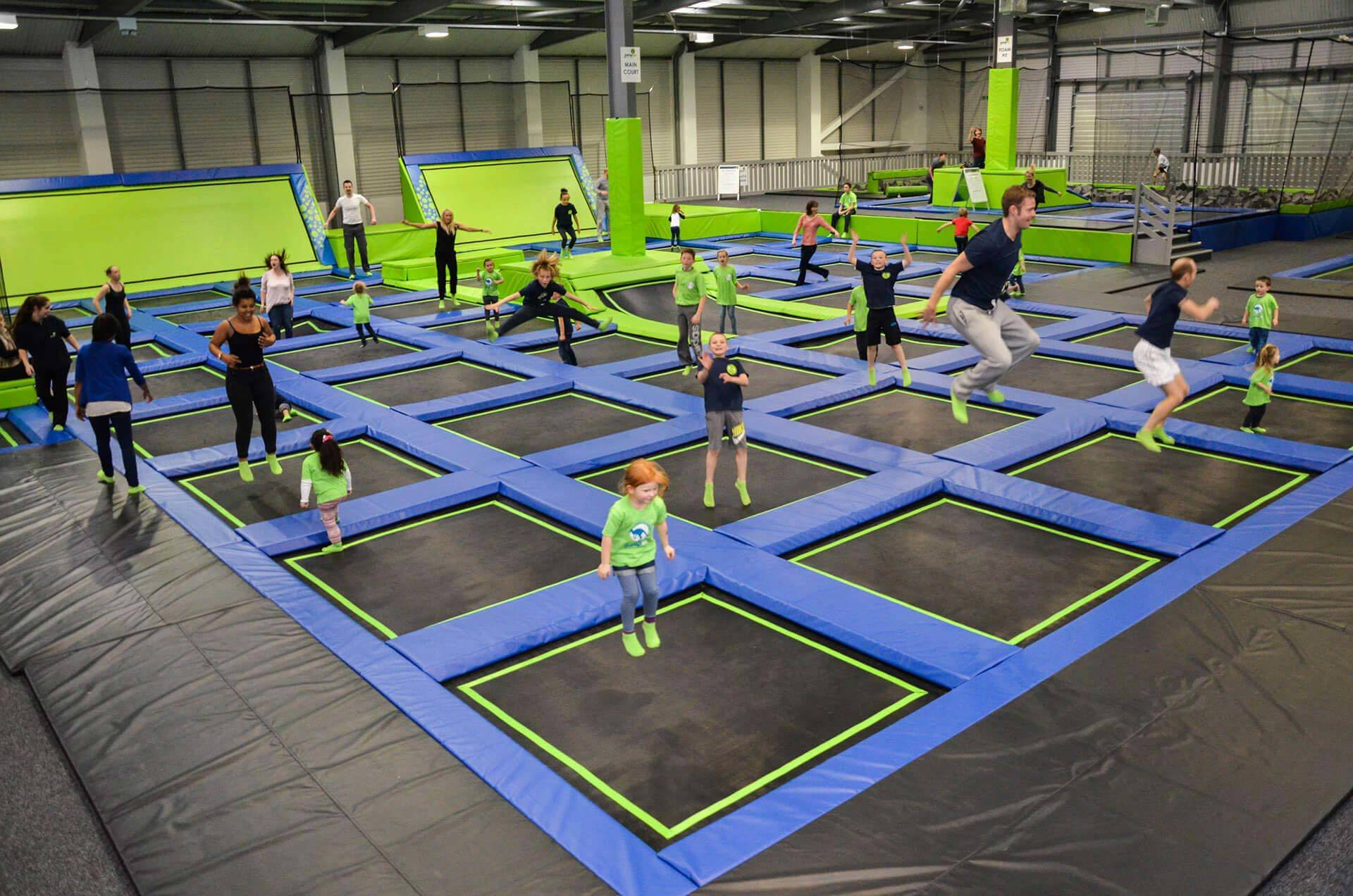 Plans were lodged to open Aberdeen's first trampoline park in Tullos in August.