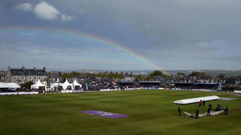 Mannofield Cricket Ground.