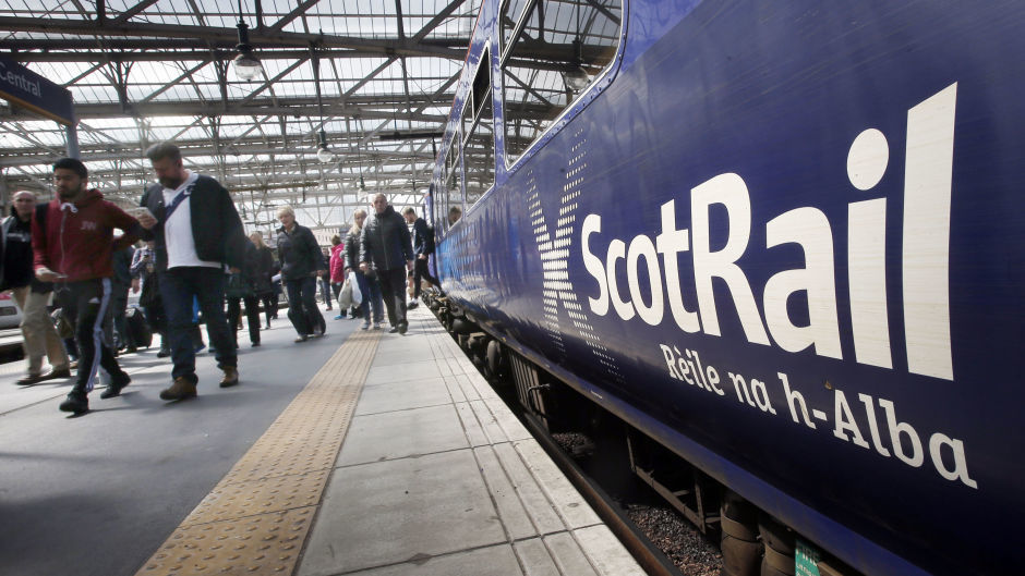 ScotRail said a signal fault is causing the delays.