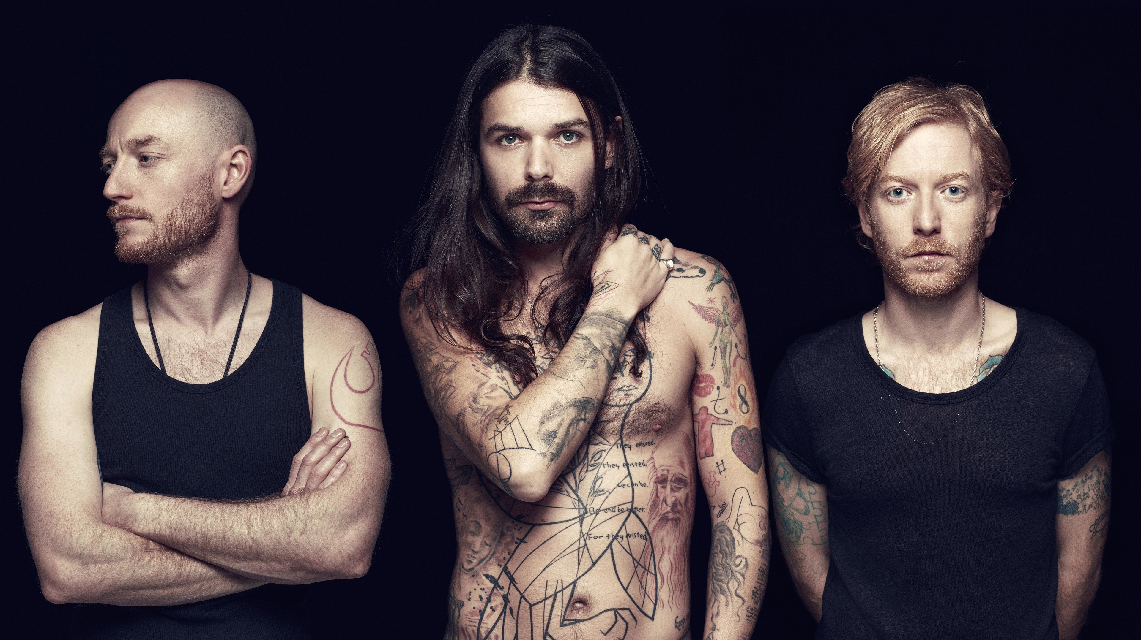 Biffy Clyro are heading for Aberdeen