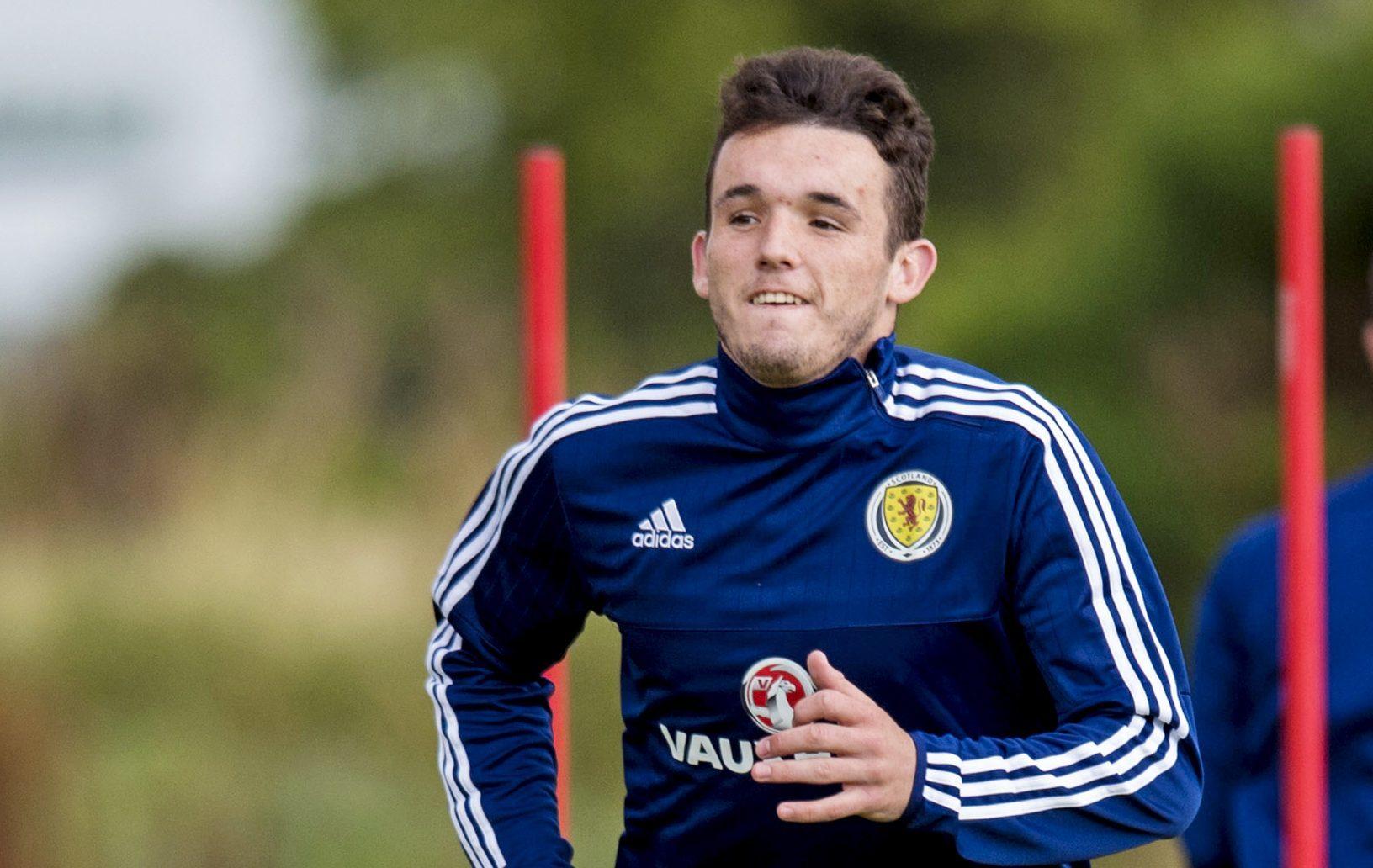 Scotland's John McGinn.