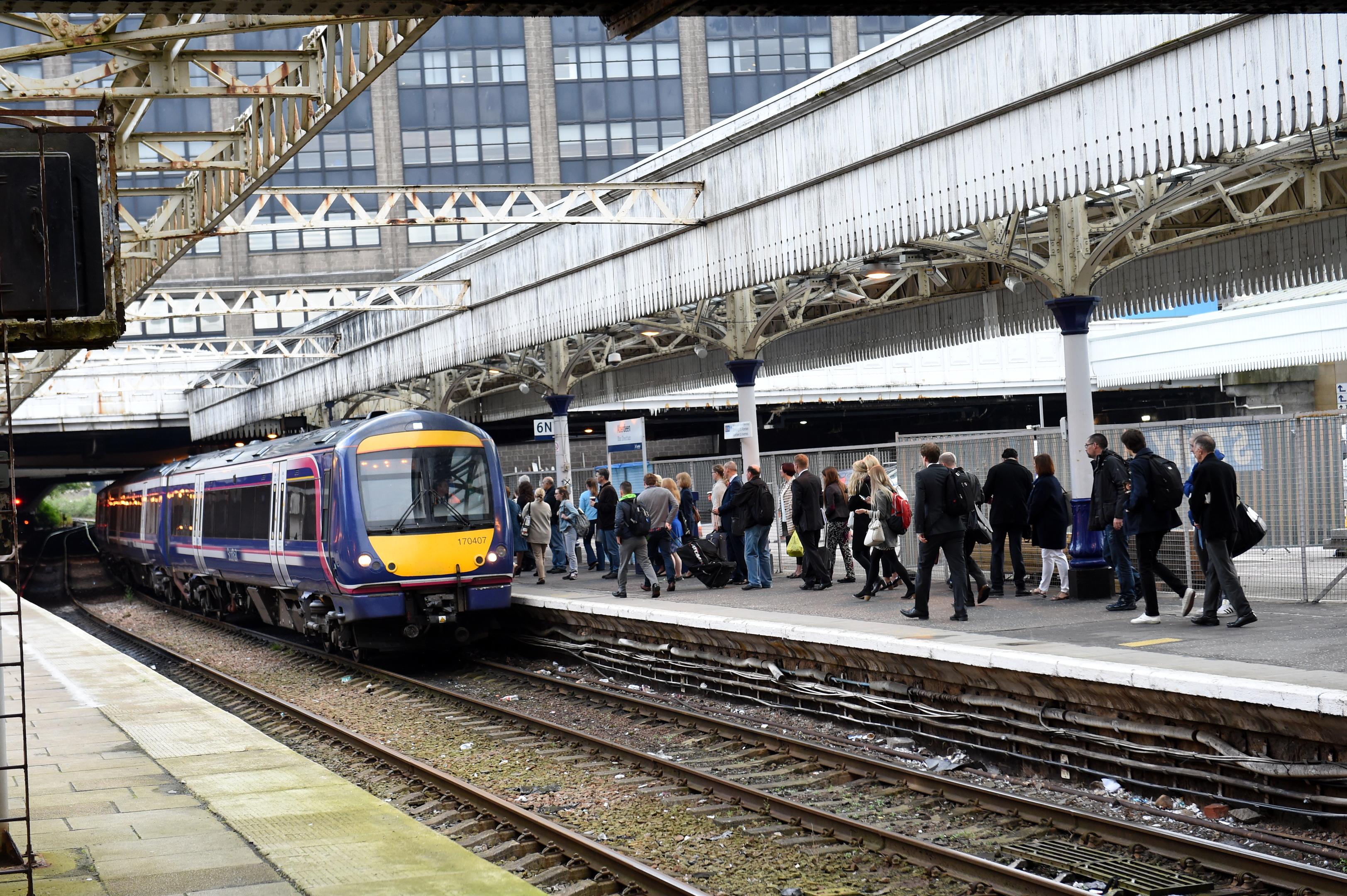 Aberdeen Train Station.