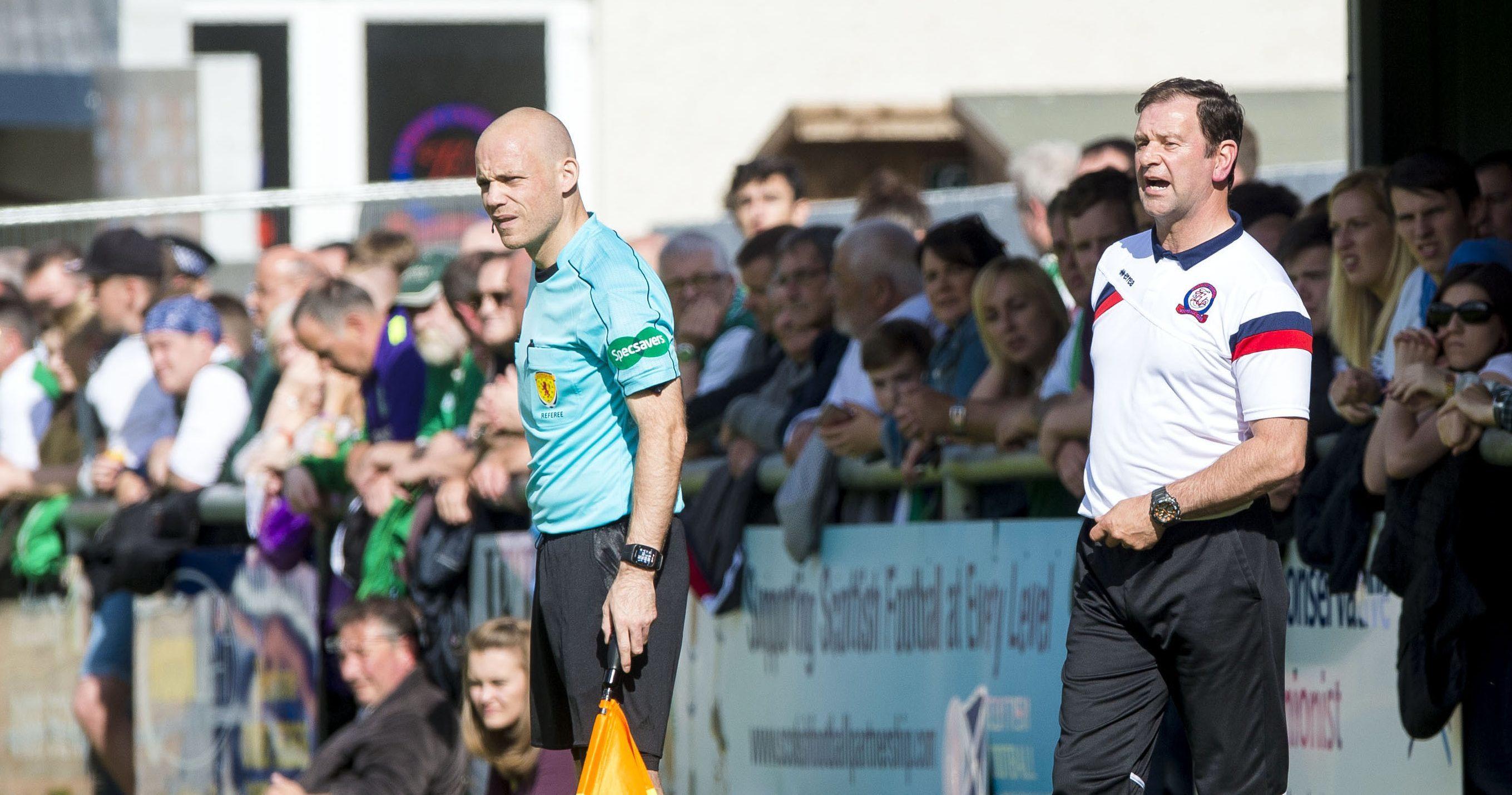 Turriff United boss Ross Jack.