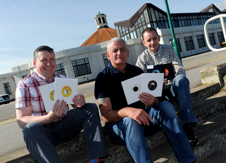 From left, Des Crombie, Steve Willox and Alan Sadler.