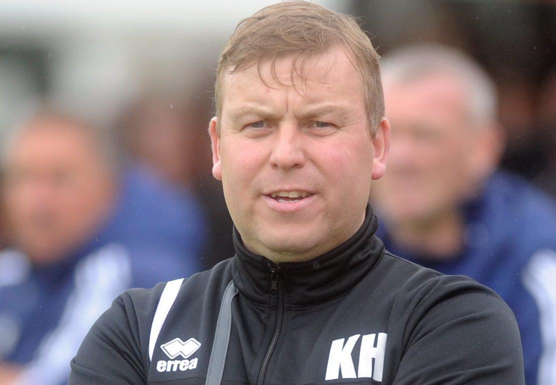 Formartine United boss Kris Hunter.