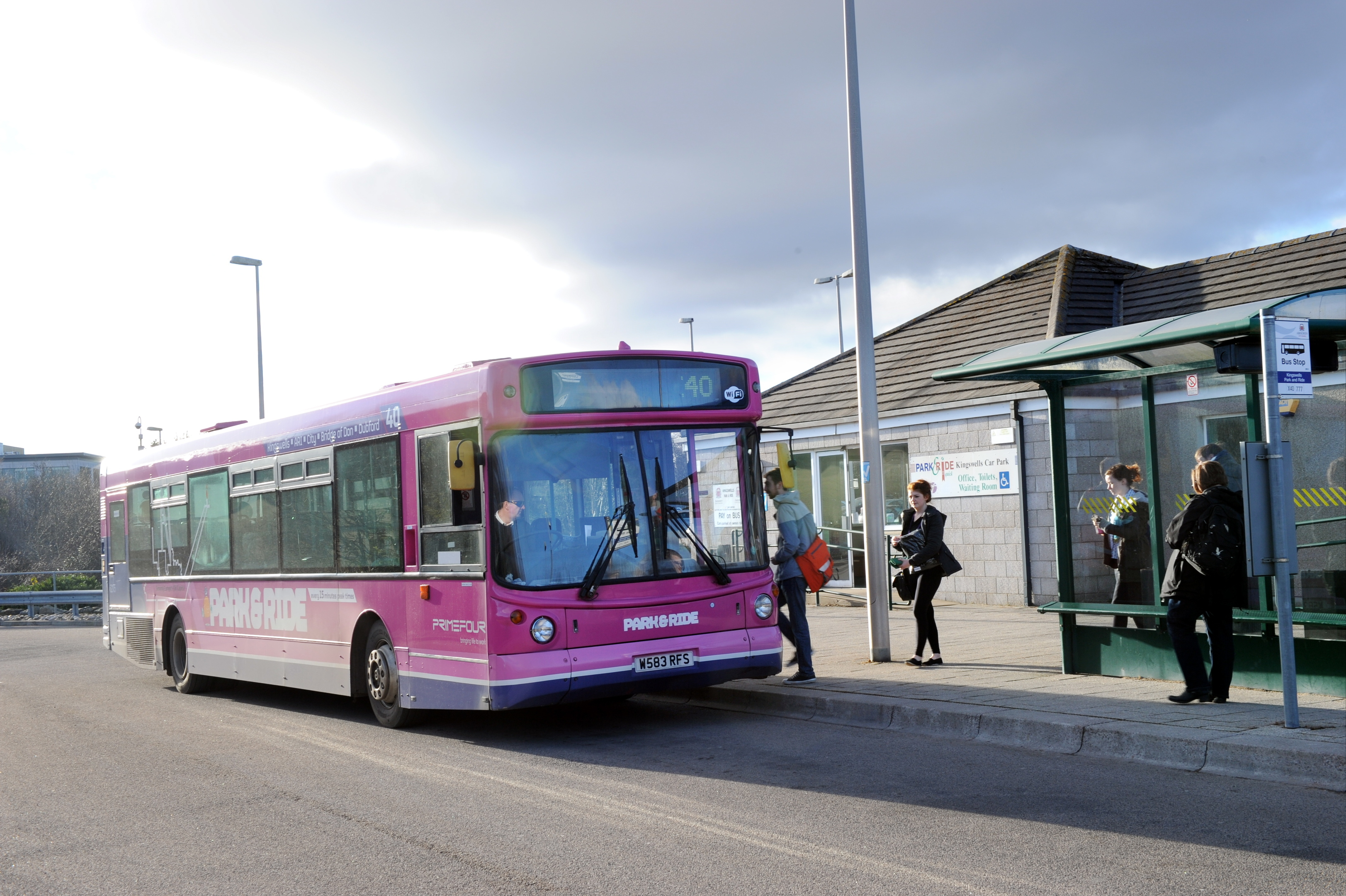 Shutting:  The X40 route could be replaced by bus company, Stagecoach.