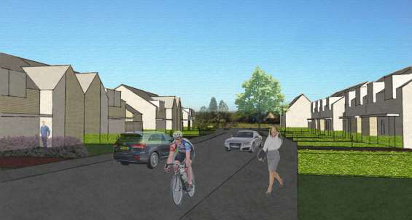 Designs for the Cruden Bay scheme.