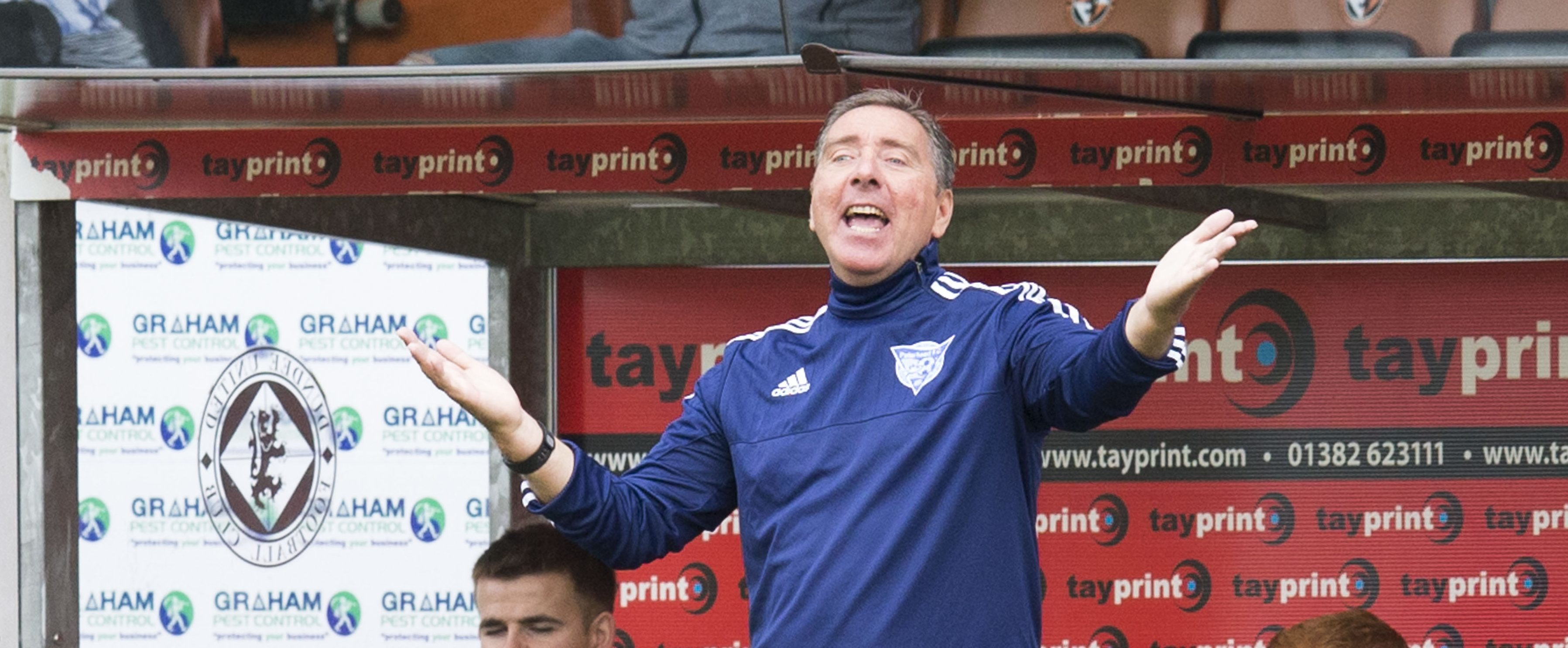 Peterhead boss Jim McInally.