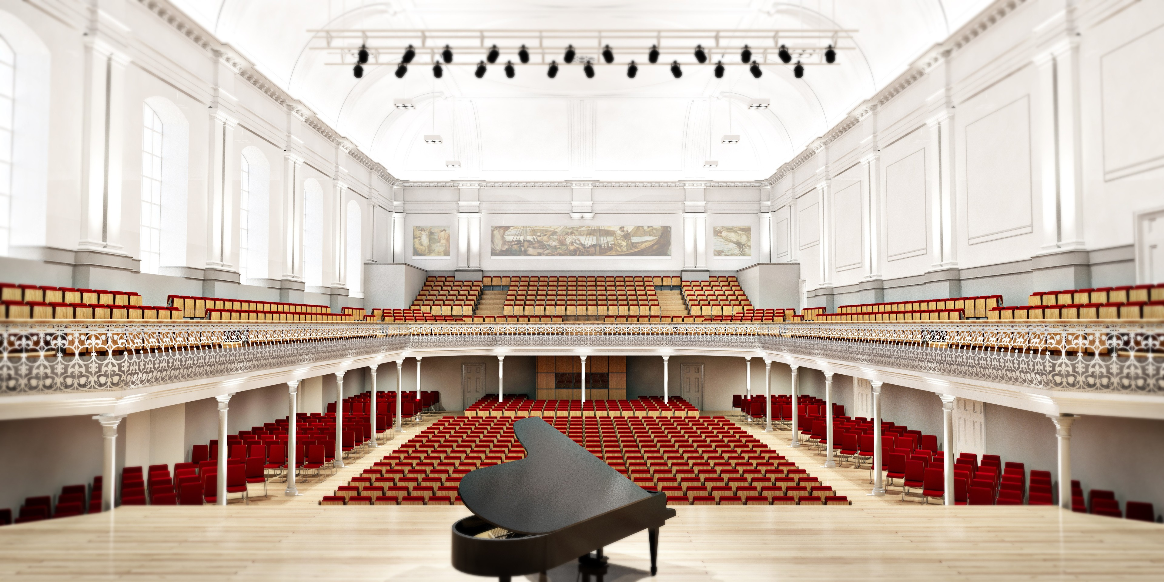 An artist's impression of how the Music Hall could look.