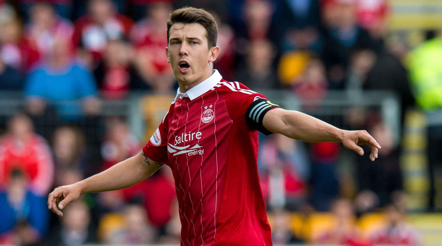 Aberdeen captain Ryan Jack.
