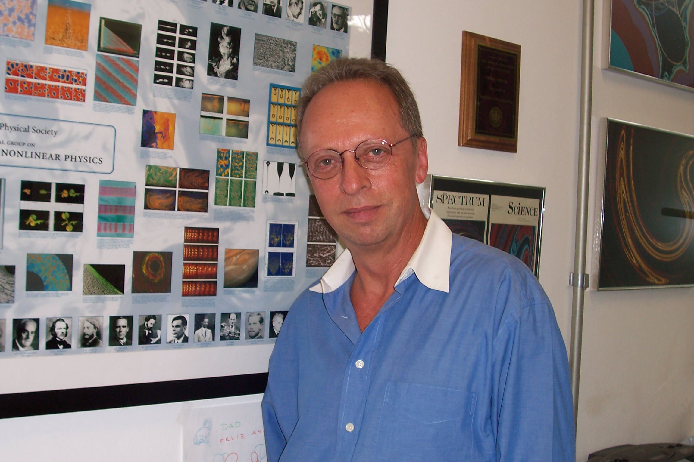 Professor Celso Grebogi  said it was an 'incredible moment' to be included in the  Citation Laureates roll.