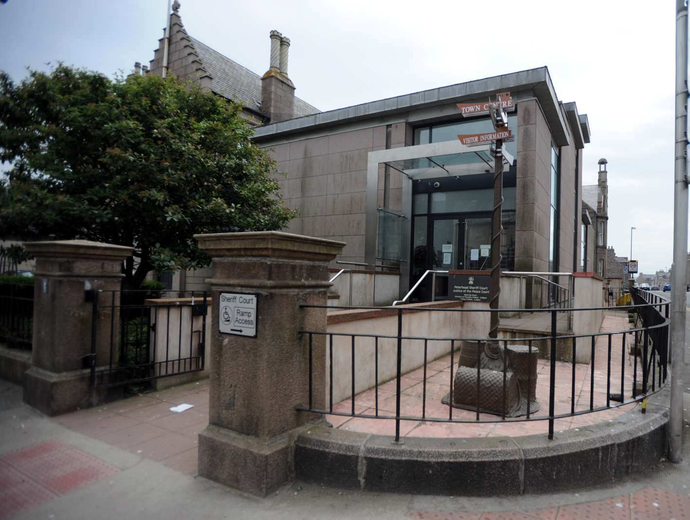 Dr Martin Thom appeared at  Peterhead Sheriff Court  accused of assault last year.