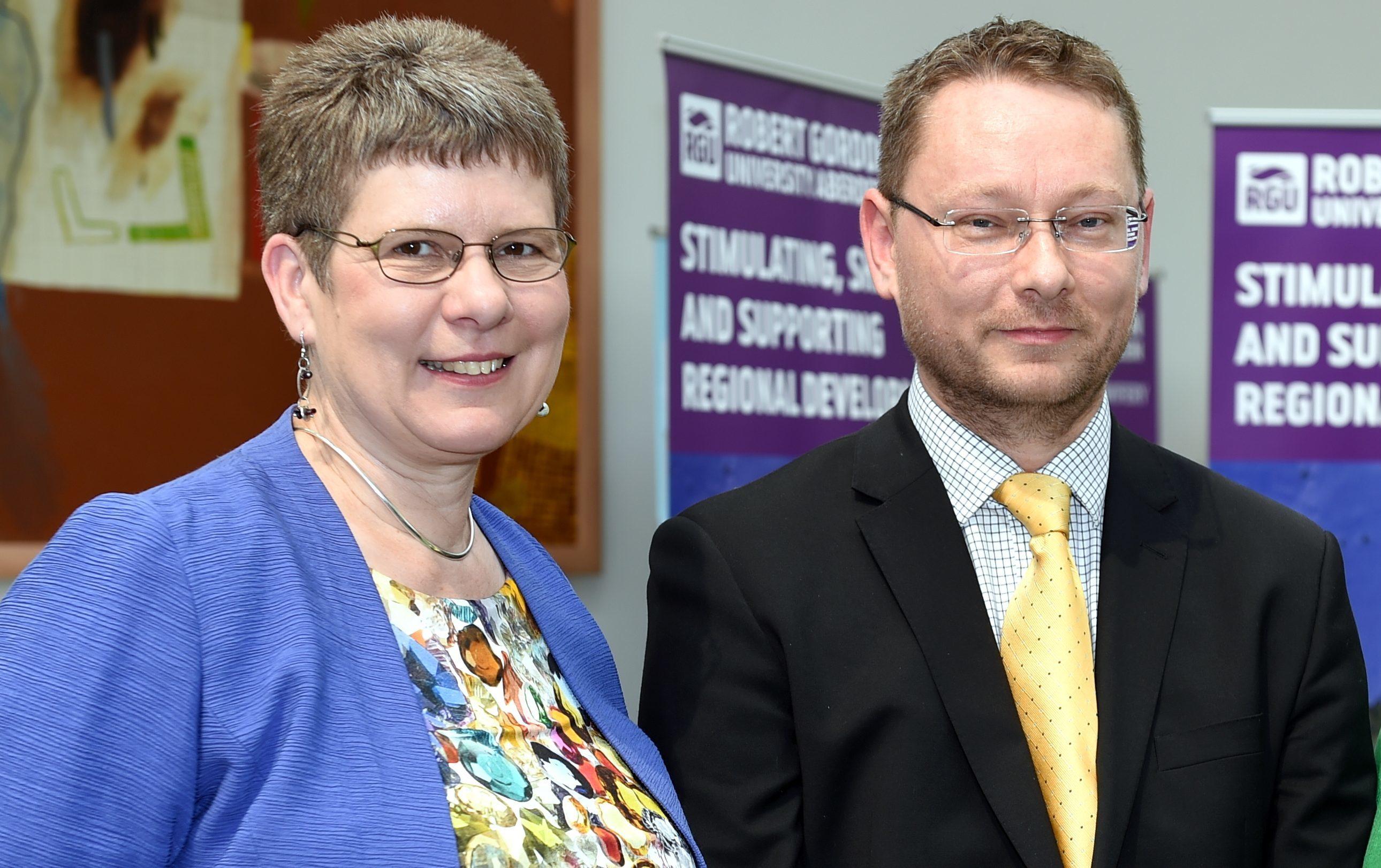 Cllr Alison Evison will work alongside Cllr Richard Thomson at Aberdeenshire Council.