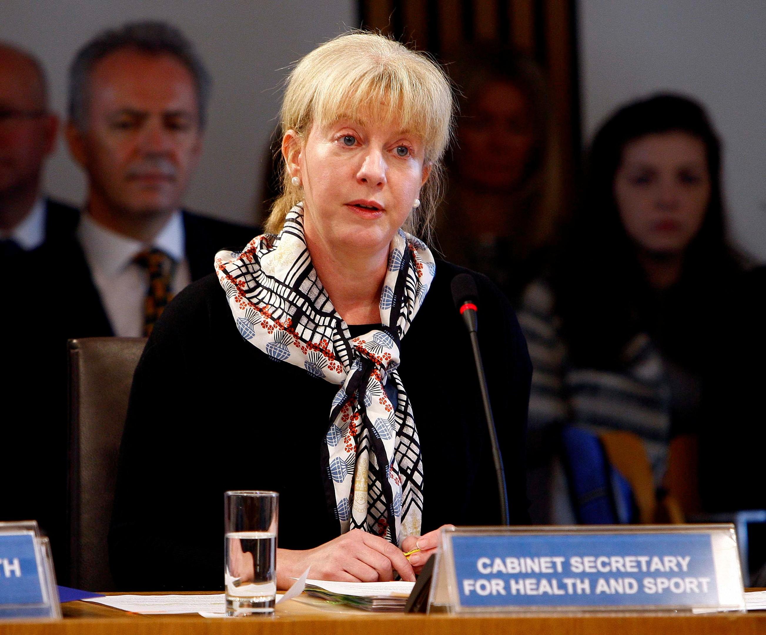 Health Minister Shona Robison