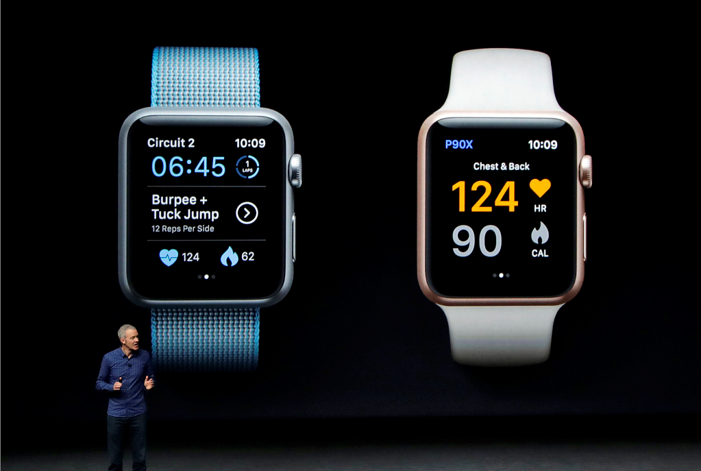 The new Apple Watch.