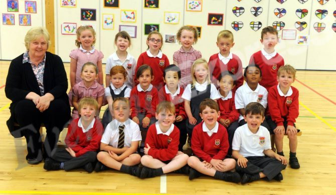 Airyhall Primary School with Mrs Davidson