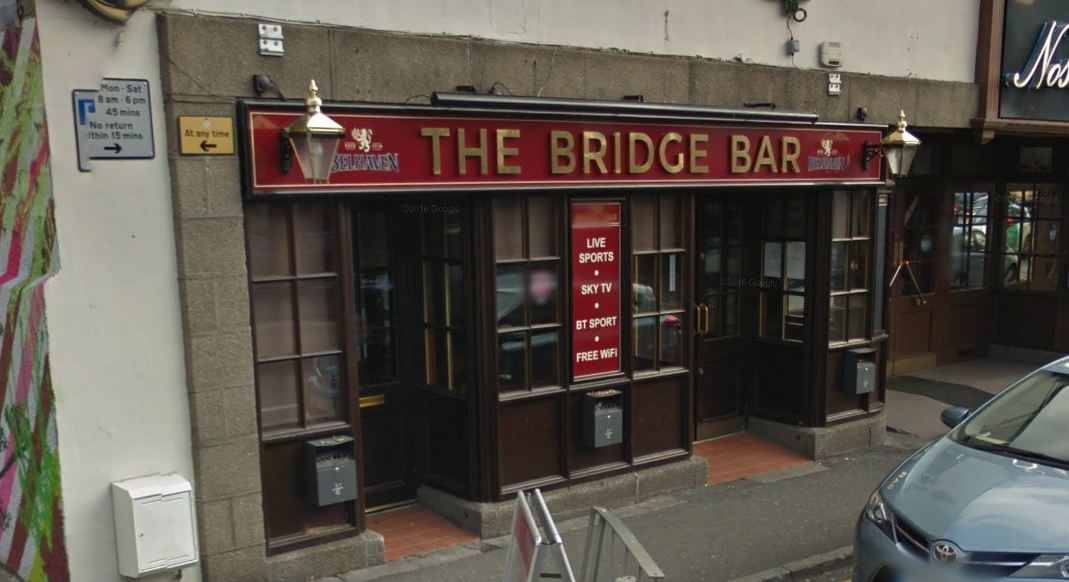 The fire happened at the Bridge Bar in Ellon. Picture: Google 2015.