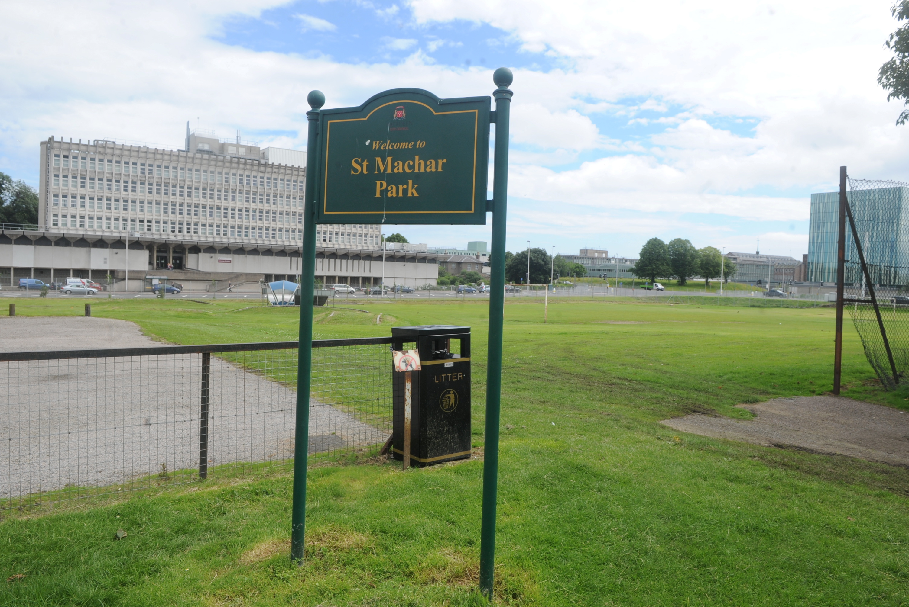 choice:  The former St Machar site  could see a new non-denominational school.